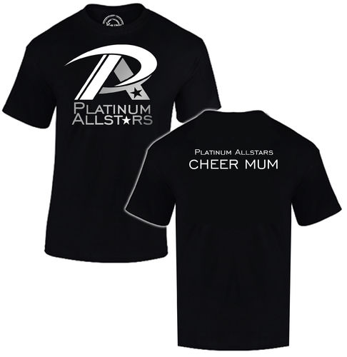 Platinum Cheer Mum T